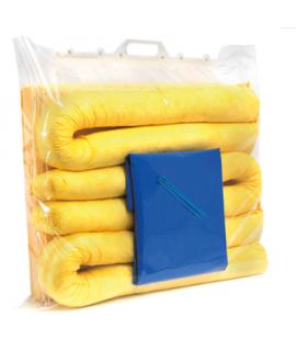 15 Litre Chemical Spill Kit Clip Top Bag