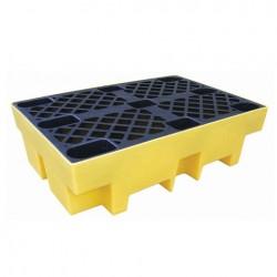 Prestige 2 Barrel Polyethylene Spill Pallet / Workfloor