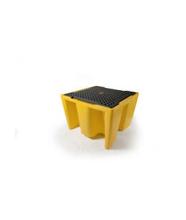 Prestige Single Ibc Spill Pallet - With Grate