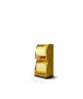 Spill Depot 2-Part Modular Dispensing Unit - Yellow