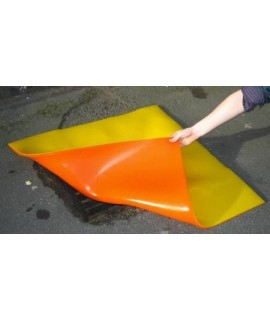 90 x 90 x 0.8cm Polyurethane Drain Cover Without Tissue