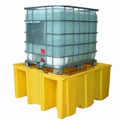 IBC Spill Pallet for 1 x 1000ltr IBC no grid deck