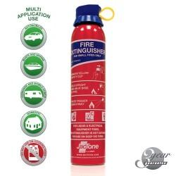 Aerosol BC Powder Fire Extinguisher 600g