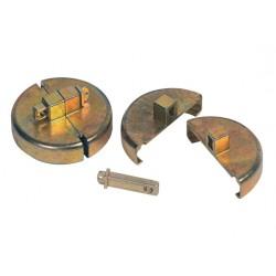 2 x Plastic Drum Locks for closed heads.