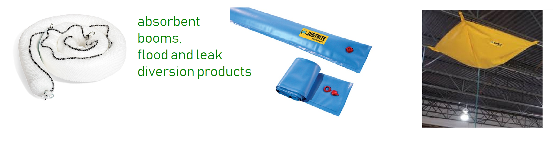 Flood and leak diverters